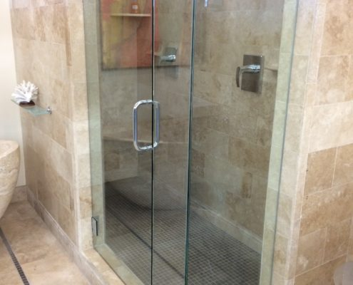 Glass Shower Door Installation Michigan Frameless