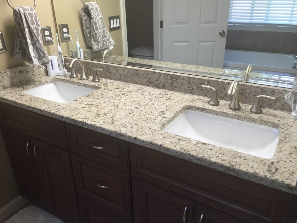 Bathroom Faucet Granite Countertop 1 for granite & quartz countertop installation | southeast mi