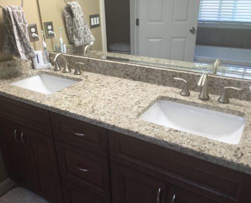 Bathroom Remodeling Contractor In Southeast Michigan - Bathroom countertop remodel